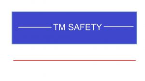TM SAFETY logo